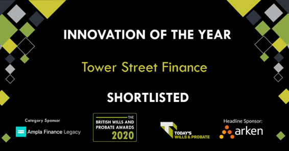 Proud to be shortlisted