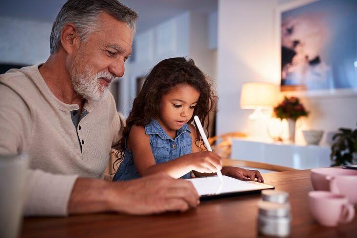 Grandads more generous than grandmas