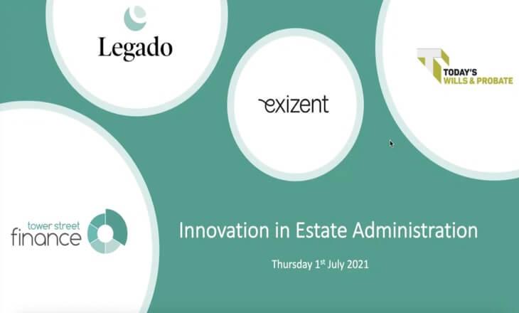 Innovation in Estate Administration webinar